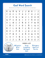 Pete the Cat and the New Guy: Word Search