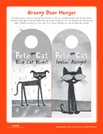 Pete the Cat and His Magic Sunglasses: Door Hanger