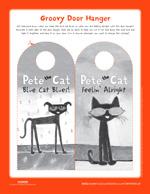 Pete the Cat and His Magic Sunglasses: Door Hanger