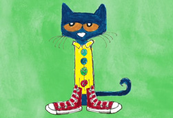 Pete the Cat and His Four Groovy Buttons!